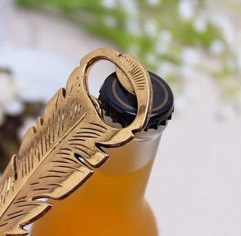 Abridor de botellas de cerveza Retro Manual de aleación de pluma tapón...