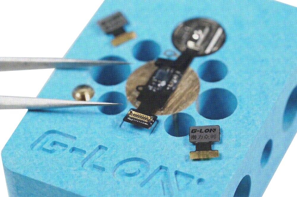 Купить с кэшбэком Fingerprint Home Button Repair Base Fixture Maintenance Platform For iphone 7 7g 7p 7plus Fingerprint Repair Chip U10 IC Tools
