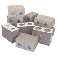 50 шт./упак. 40 мм Ассорти майларовые картонные Альбомы для коллекции монет Маяк чехол для хранения