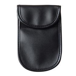 1 Pcs Carro Saco chave Do Carro Fob Saco Bloqueador de Sinal De Faraday Blindagem de sinal de Bloqueio Bag Bolsa Carteira Caso para Proteção de Privacidade nova