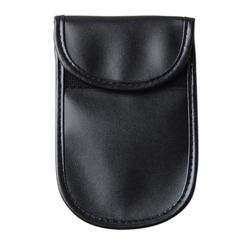 1Pcs Car font b key b font Bag Car Fob Signal Blocker Faraday Bag Signal Blocking