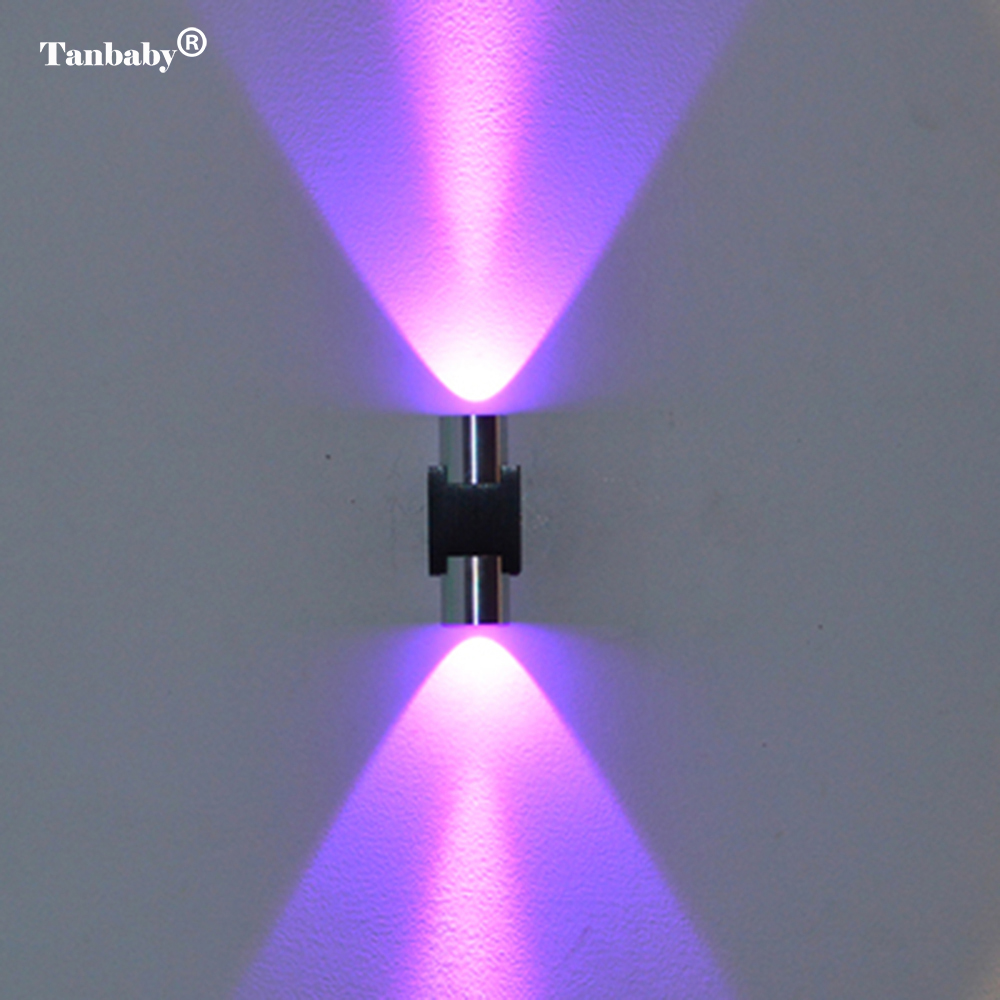 Tanbaby 2W LED Wall Light Modern Wall Sconce Lamp AC85 ... on Modern Wall Sconce Lights id=36404