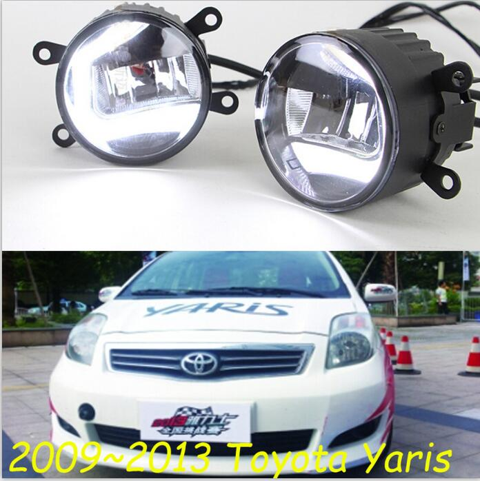 2009 2016 yaris daytime light Free ship LED Yaris fog light 2ps set corolla camry reiz aliexpress com buy 2009~2016 yaris daytime light,free ship!led Headlight Wiring Harness Replacement at crackthecode.co