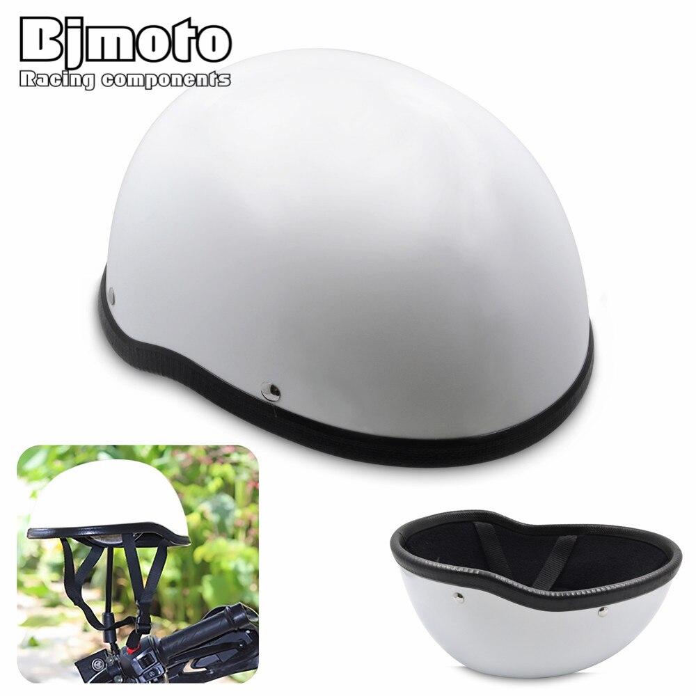Bjmoto Universal streetbike Open Helmet head safety protector Half Helmet Open Face Half Motor Scooter Goggles Motorcycle Helmet