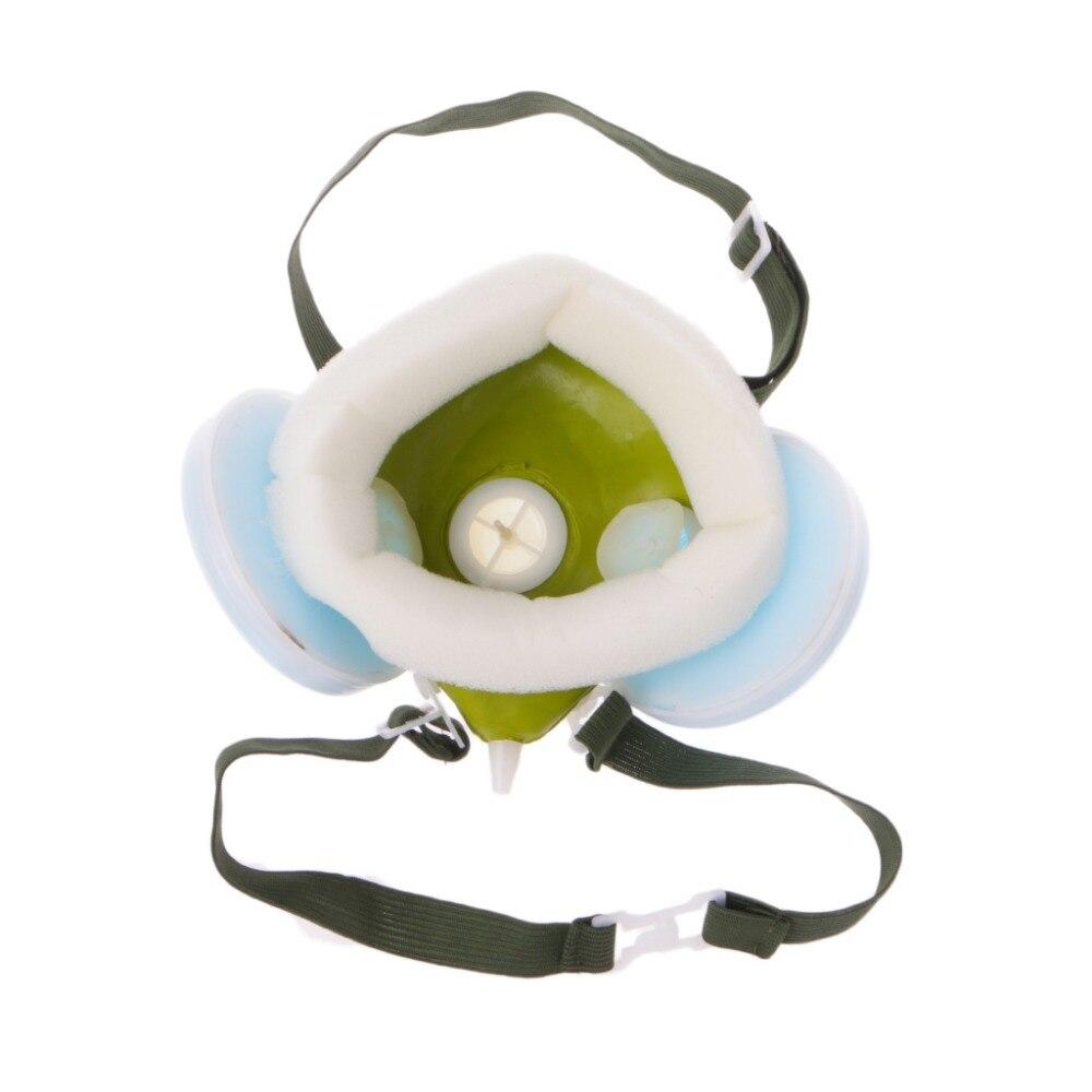 Zlrowr N3800 Anti-dust Facepiece Filter Paint Spraying Cartridge Respirator Gas Mask Health Care
