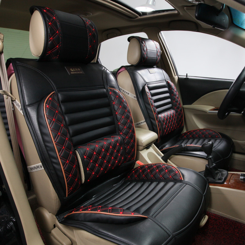 leather car seat cushion picture more detailed about