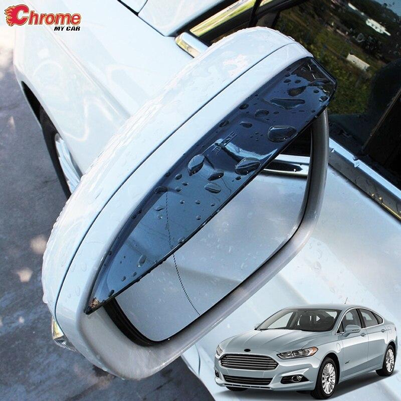 ABS Plastics Mud Flaps Splash Guard Trim For Ford Fusion Mondeo 2013-2018