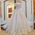 Bola Vestido de Casamento vestido de Noiva 2017 Vestidos de Noiva de renda vestidos de Noiva vestido de noiva de renda Robe de mariage Robe de mariee
