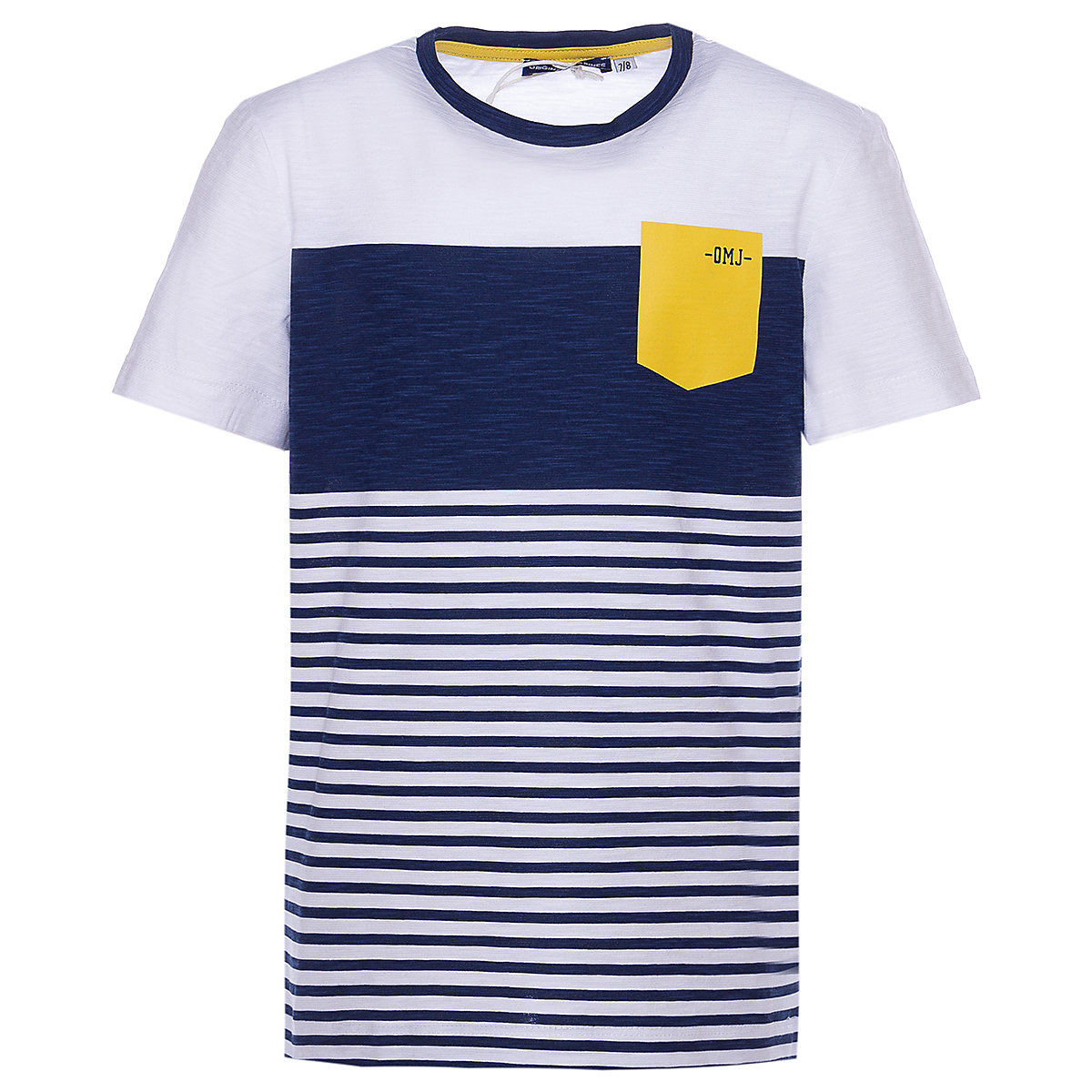 Фото - T-Shirts ORIGINAL MARINES 10819101 Children sClothing T-shirt with short sleeves polo shirt for boys and girls slimming round neck color block striped star pattern long sleeves t shirt