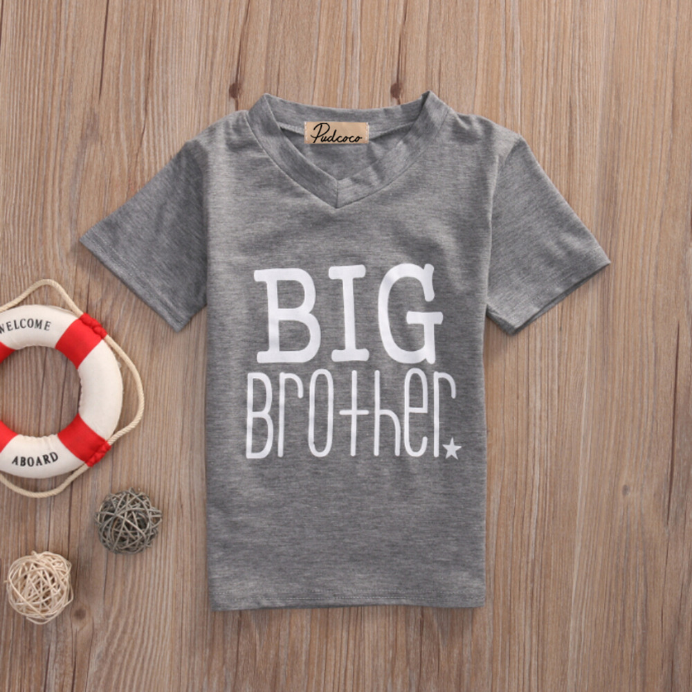 T-Shirt Matching Baby-Boys Big Summer Letter Romper Jumpsuit Soft Printed Hot-Wholesales