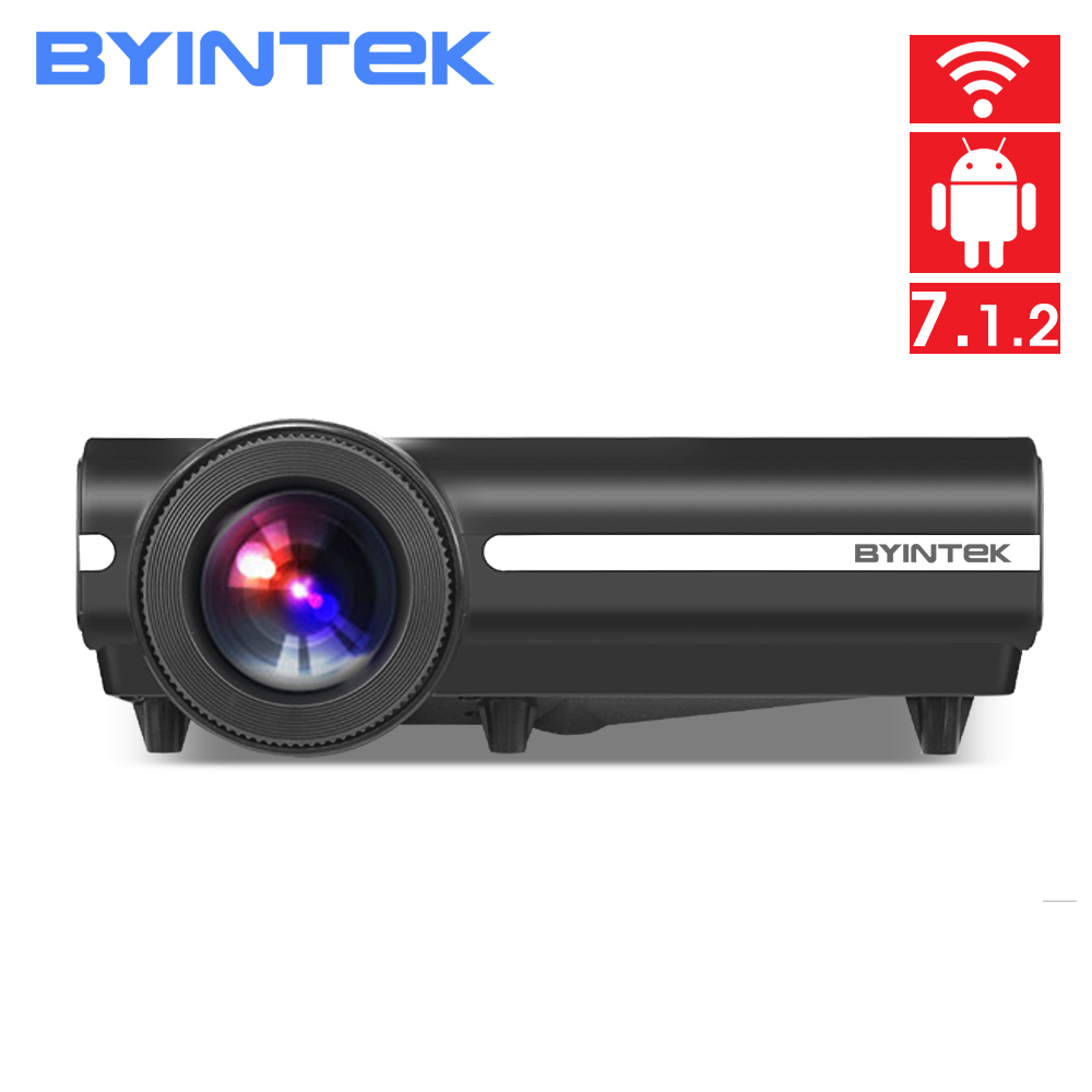 200inch Hologram LED Video HD Projector BYINTEK MOON T96Plus for Home Theater Full HD 1080P (Optional Android 6.0 Support 4K)(China)