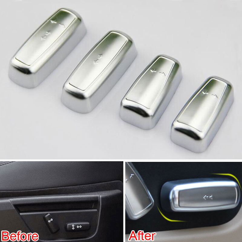 2014 Land Rover Lr2 Interior: Seat Adjustment Switch Button Cover Trim 4Pcs/set ABS