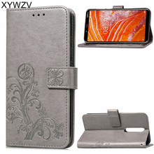 For Nokia 3.1 Plus Case Luxury Flip Wallet Phone Bag Silicone Back Cover X3 Fundas ^
