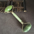 Natural stone Facial Beauty Massage Face Lift Tools artificial Jade Roller Face Thin massager