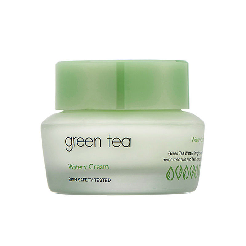 Best Korea Cosmetics IT'S SKIN Green Tea Watery Cream 50ml Face Cream Skin Care Whitening Moisturizing Treatment Care Acne premium биотоник с зеленым чаем салонная косметика премиум premium green tea moisturizing