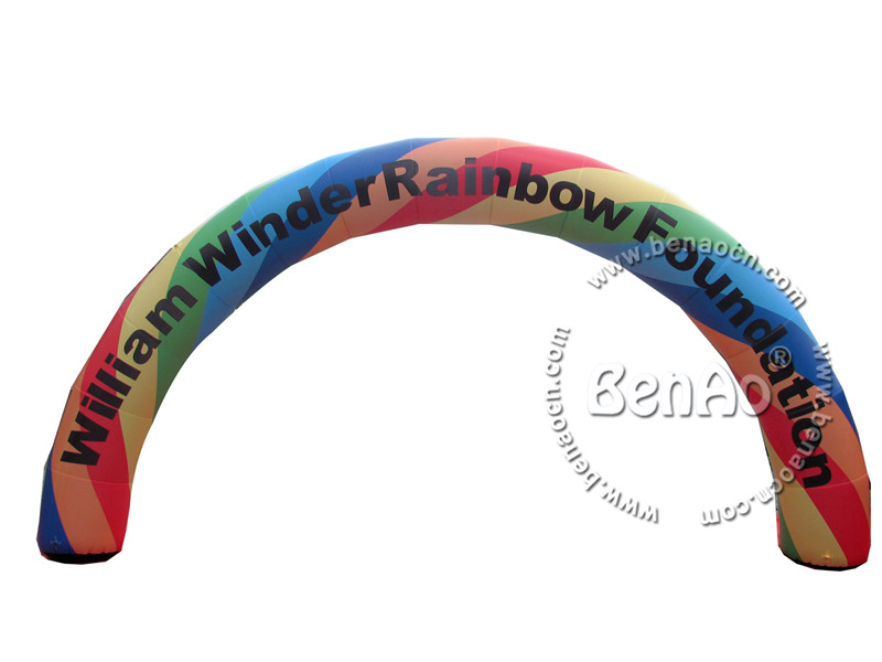 R008 Free shipping+blower  Inflatable Customized Stable Rainbow Door Arch/ colorful archway inflatables for event and decoration цена 2016