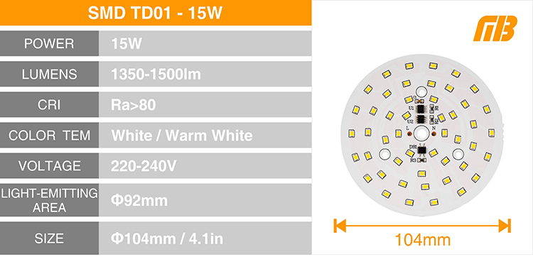 LED Down Light_TD-01 Chip_14