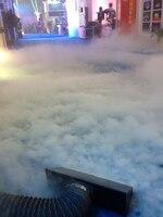 Rasha Factory 3500W Dry Ice Fog Machine Stage Low Fog Machine Smoke Machine Speical Effects With Flight Case Πpe For Wedding
