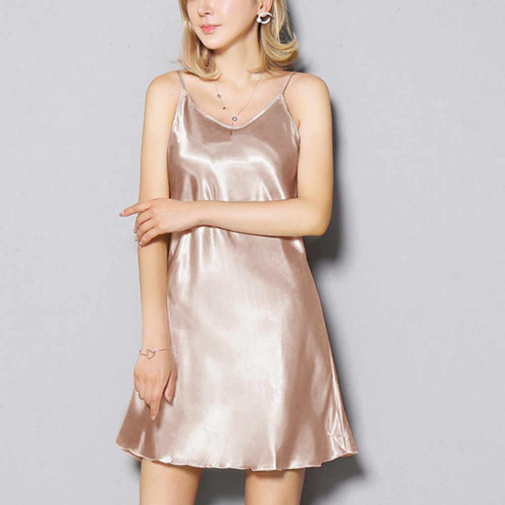 Mulheres Nightwear Lingerie Plus Size Sexy Cetim Lótus Hem Sling sexy lady roupa mulheres vestido erótico