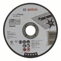 BOSCH 2608603492 abrasivo Disco De corte em linha reta Melhor Inox Rapido 125x1mm|Acessórios para ferramenta elétrica|   -