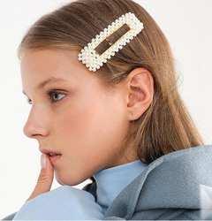 JRFSD новая сеть знаменитости INS Перл Металл золотистый цвет волос клип Бобби булавки заколка для волос заколка для прически для женщин обувь