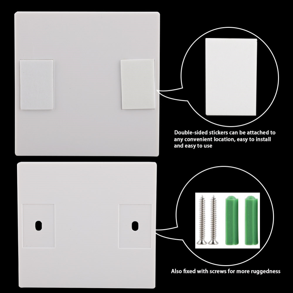 2019 New 110V 220V Receiver Smart Switch Wireless Switch Light RF Remote Control AC Wall Panel 86 Type 433Mhz in Switches from Lights Lighting