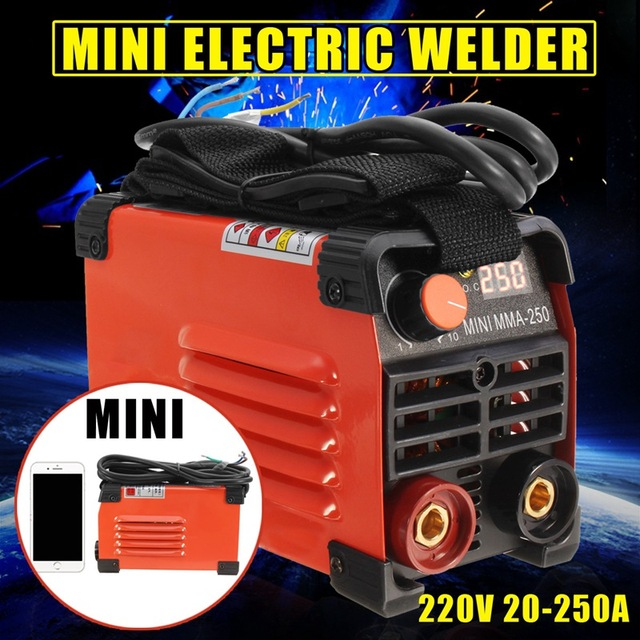 Forgelo MMA Handheld Mini Electric Welder 220V 20 250A Inverter ARC     Forgelo MMA Handheld Mini Electric Welder 220V 20 250A Inverter ARC Welding  Machine Tool