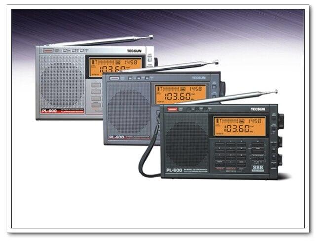 TECSUN PL 600 Full band Synthesized Stereo Digital tuner tunning AM FM LW SW SSB Shortwave