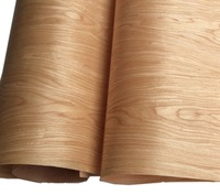 Длина: 2 5 м Толщина: 0 25 мм Ширина: 60 см технология вишневого шпона двери шкафа шпона (задняя Нетканая ткань)