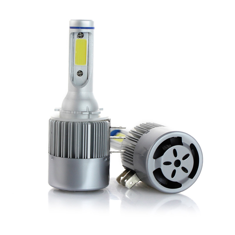 Car H4 <font><b>H15</b></font> <font><b>LED</b></font> Bulb Headlight 72W 8000LM Wireless Car Headlight Lamp 12V Conversion Driving Light 6000K White For MAZDA Audi BMW image