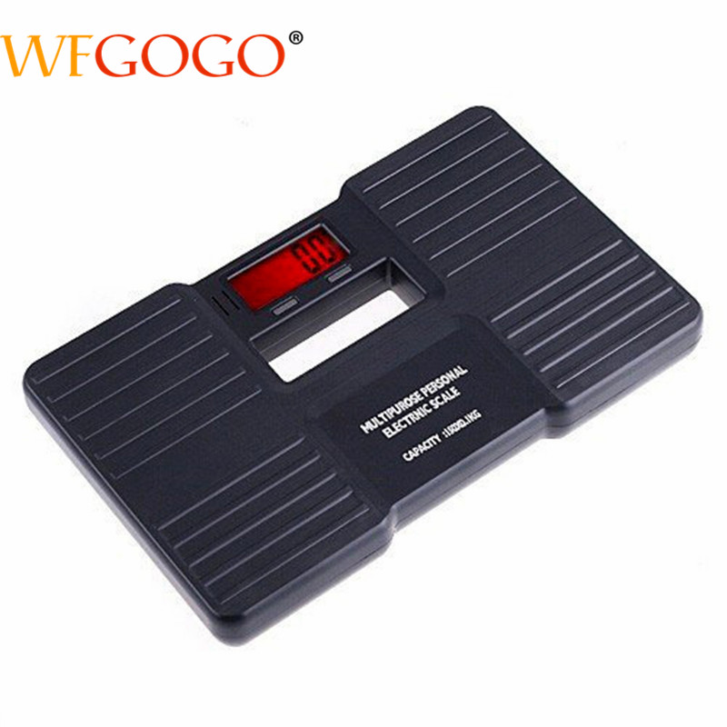 150kg/0.1kg Body scale Portable Digital LCD Bathroom Body Weight Scale Management Scale Durable Plastic Shell Hot Sell