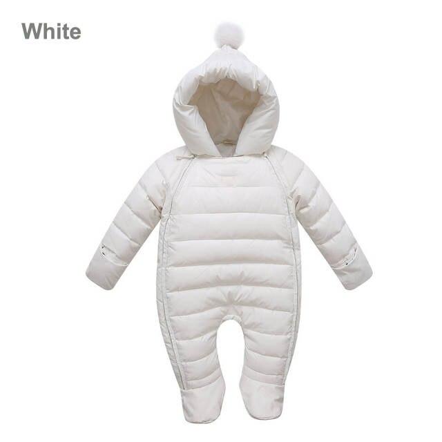 c42876c8b339 Online Shop Russian winter 2018 baby boy winter Jumpsuit children ...