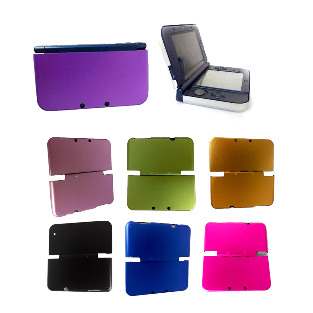High quality Aluminum Hard Metal Box Protective Skin Cover Housing Case Shell Protector For NEW 3DSLL