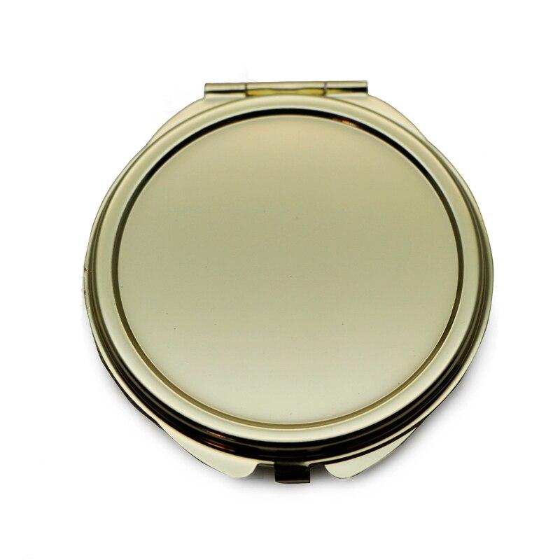 oro ronda espejo de maquillaje compacto pretty pretty ladies espejo compacto espejos bolso mgchina