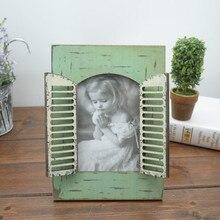 Креативное Искусство и ремесла модное украшение для дома винтажная деревянная фоторамка