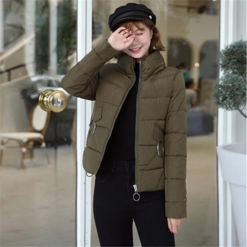 Femmes Coton De Et Sauvage Automne Manteau Nouveau Veste Le Bas 2018 Vers Court D'hiver nZaXUqq