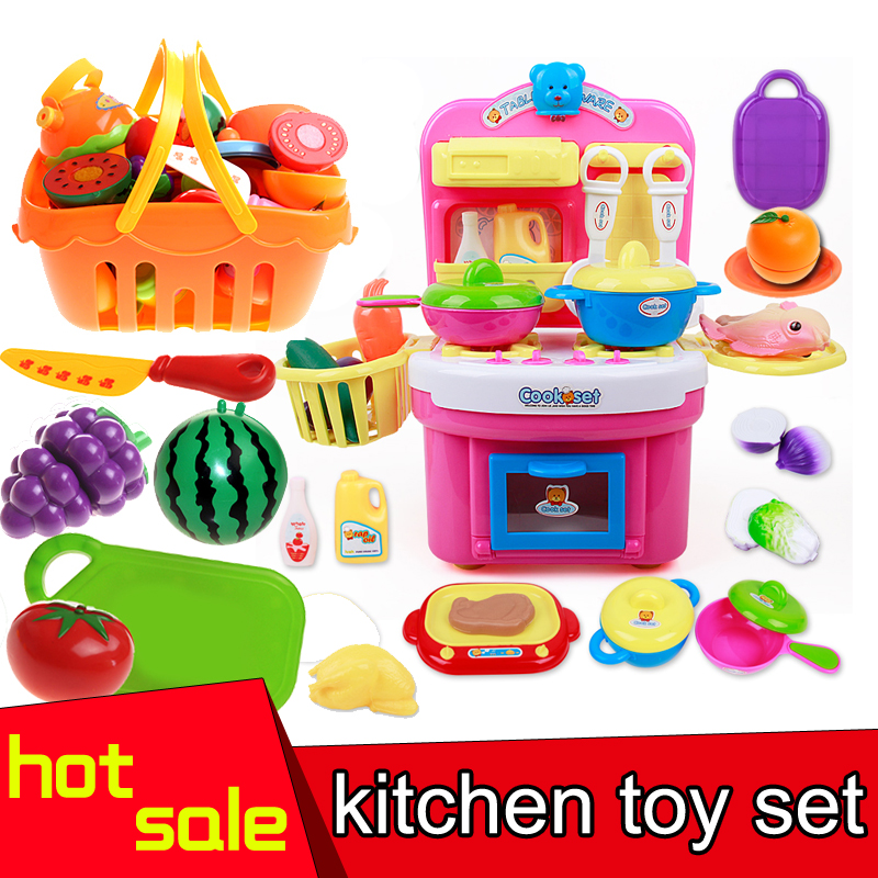 2016 Hot Selling Children Kitchen Toy set For Girls Cooking Toys Kids Pretend Play Toys With Light music Effect Playing Toy black fox bmp 100 gray