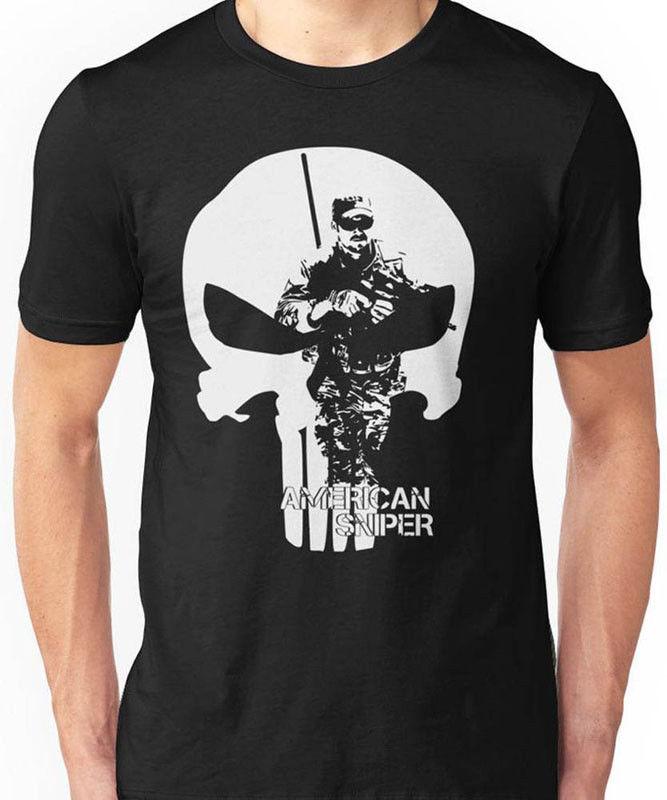 2019 Summer Fashion Hot Sale Men O-Neck T Shirt  The Devil Of Ramadi Chris Kyle American Sniper T-SHIRT S-3XL NEW TEE