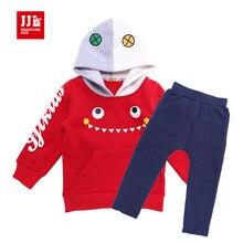 Детские новинка одежда набор рождественский подарок для ребенка костюм «забавные монстры» дизайн малышей одежда мальчики открытый набор