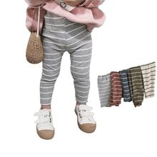 MILANCEl детские леггинсы modis полоса Стиль базы; леггинсы для девочек; одежда для малышей; хлопковая одежда для мальчиков, леггинсы для девочек детская одежда