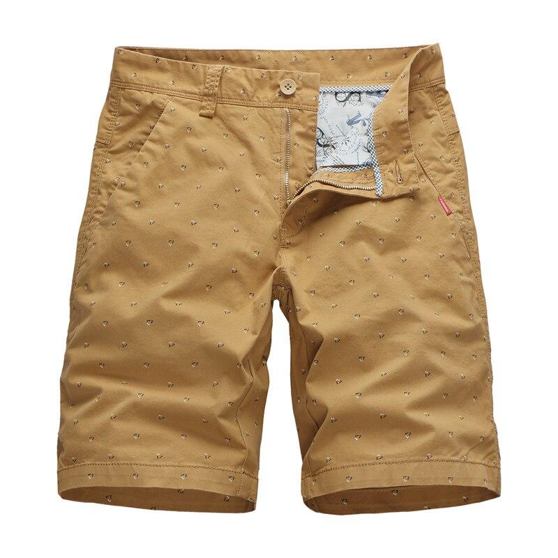 Baggy Shorts Formal Dots-Printing Men Bermuda Plus-Size Cotton Casual Summer Masculina