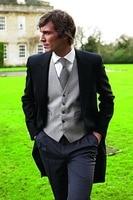 New Style Men Morning Suit Wedding Groom Tuxedo Fashion Best Man Suit Prom Wear