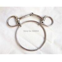 Stainless Steel Dexter Ring Bit Horse Equipment H0974