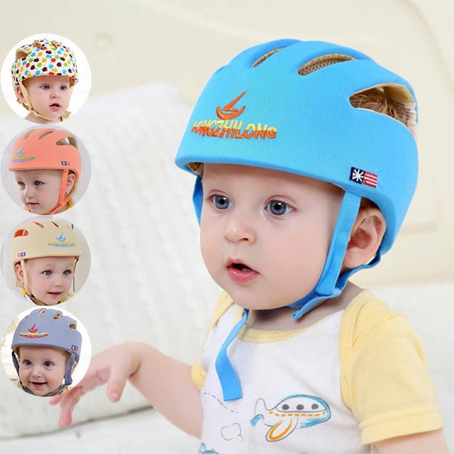 0e48bb1cdf68 infant protective hat safety helmet for babies cotton baby summer bonnet  baseball cap kids sun hats