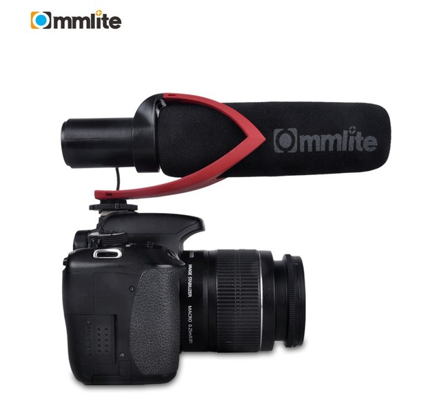 for most DSLR cameras Microphone CVM V30 Photography Interview Shotgun Recording Protable Microphones  Mini Cool Mic Microphone