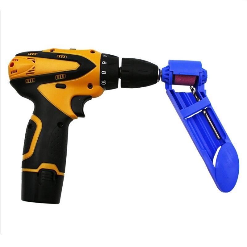 wear resisting Portable Drill Bit Sharpener Wear Resisting Corundum Grinding Wheel Electric Drill Auxiliary Tool (5)