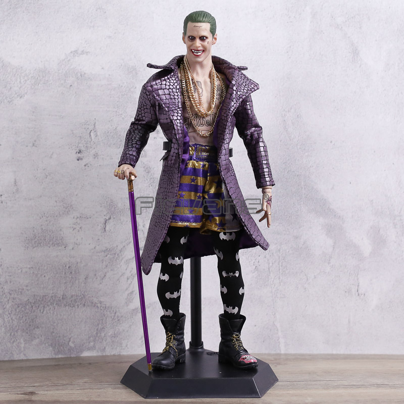 Crazy Toys The Joker Real Clothes Batman Imposter Version PVC Figure Model Collection Birthday Gift