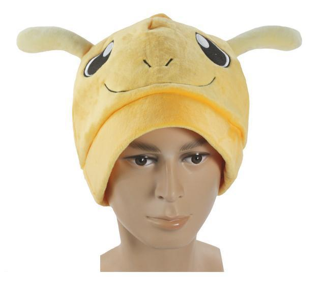Poke mon Anime Dragonite Plush Hat free shipping