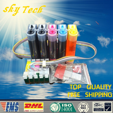 Full Dye Ink CISS suit for T0731HN T0731HN T1032HN T1033HN T1034HN , suit for Epson T1100 TX510FN  T30 , with ARC chips ciss suit for epson stylus photo r1900 suit for t0870 t0871 t0879 series fulll dye ink ciss with arc chips