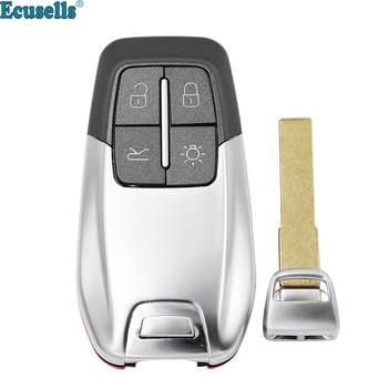 4 buttons Luxury remote key shell for Ferrari 458 588 488GTB LaFerrari with insert key blade